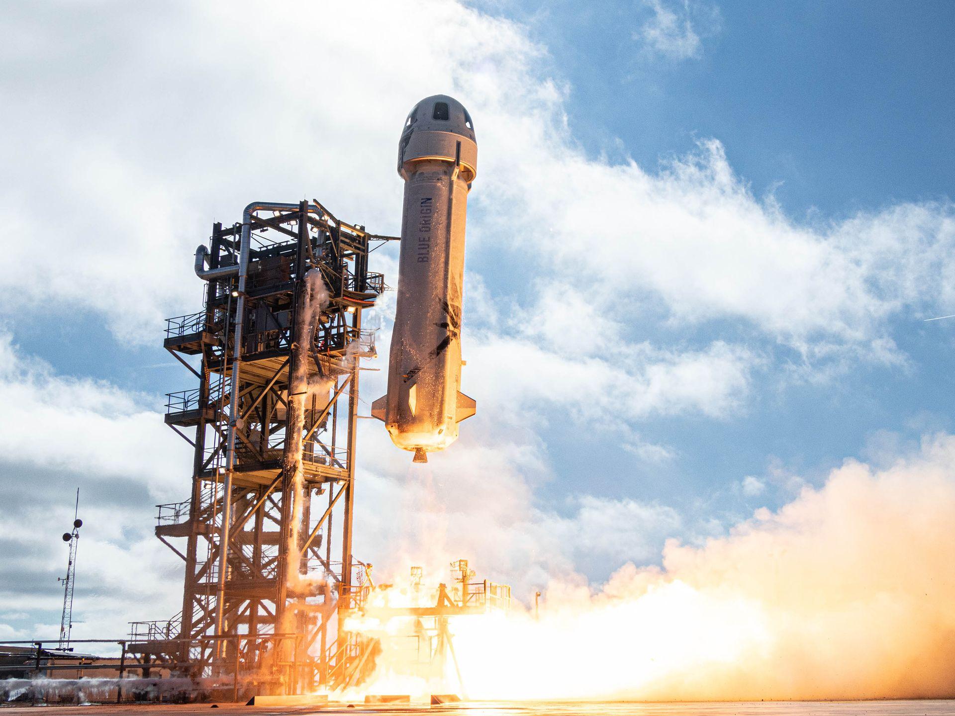 Космический туризм: Blue Origin приступила к финальным испытаниям.Вокруг Света. Украина