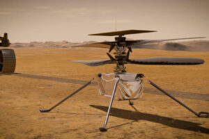 Вертолет NASA установил на Марсе новый рекорд