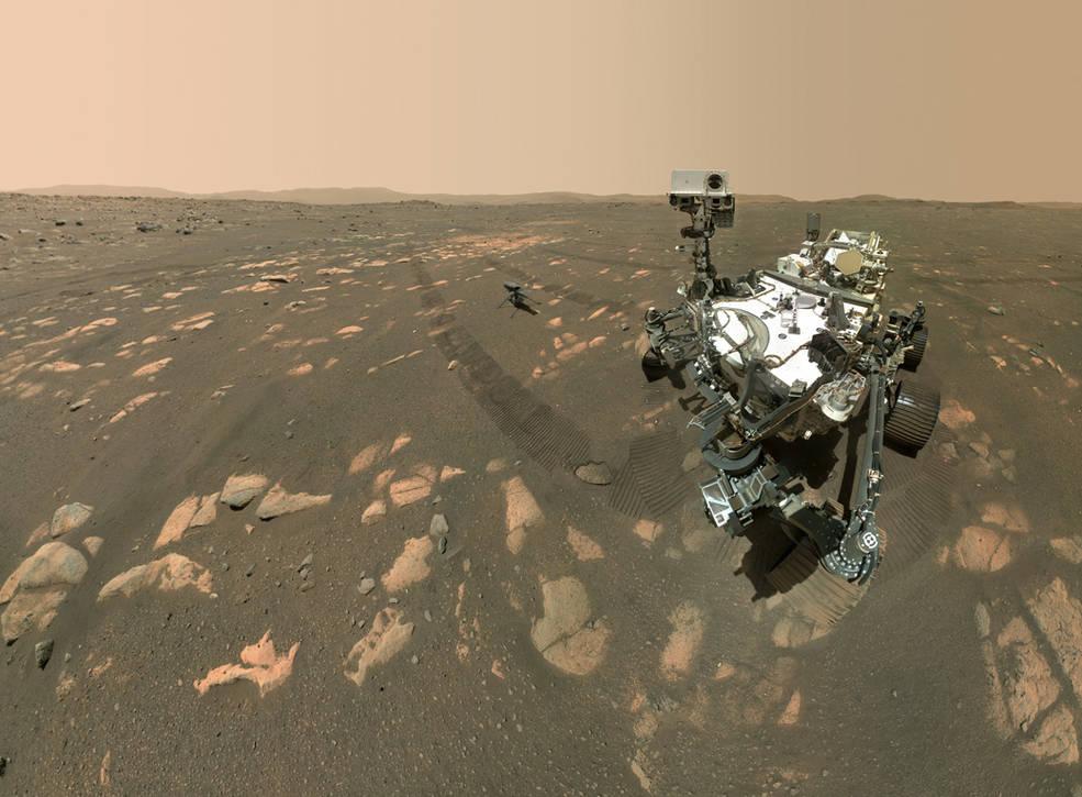Минус 83°C: NASA получило данные о рекордах погоды на Марсе