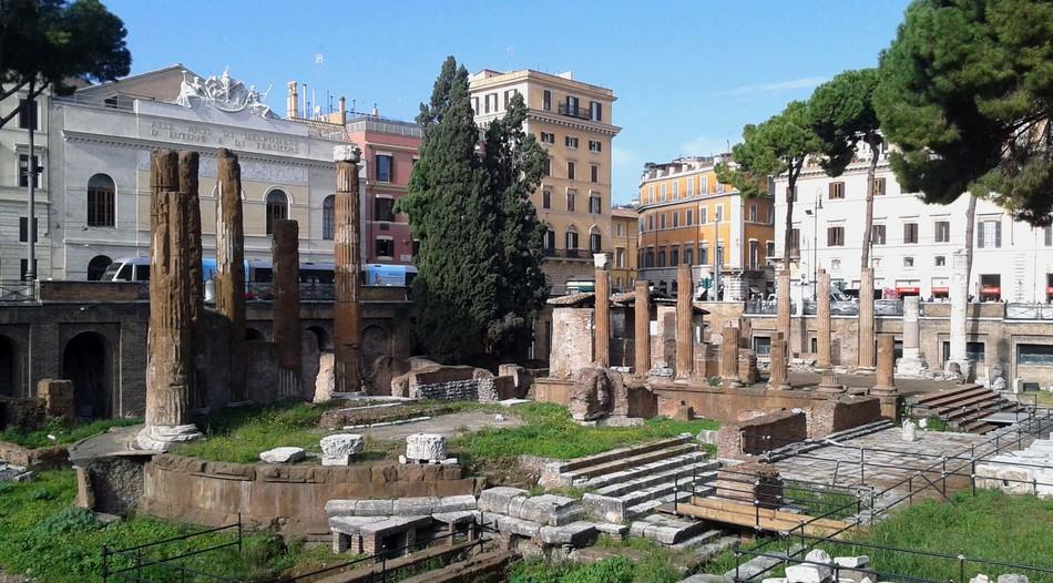 Место убийства Юлия Цезаря станет музеем под открытым небом
