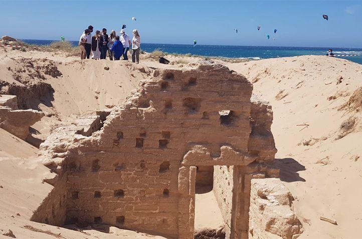 На пляже в Испании нашли римские бани.Вокруг Света. Украина