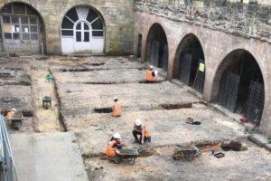 В Ноттингемском замке нашли следы домашнего питомника XVIII-XIX веков