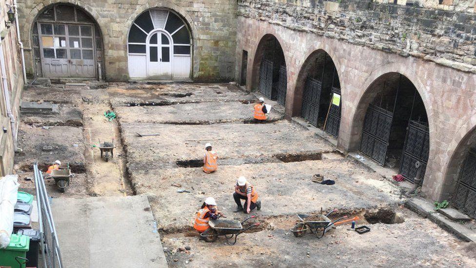 В Ноттингемском замке нашли следы домашнего питомника XVIII-XIX веков.Вокруг Света. Украина