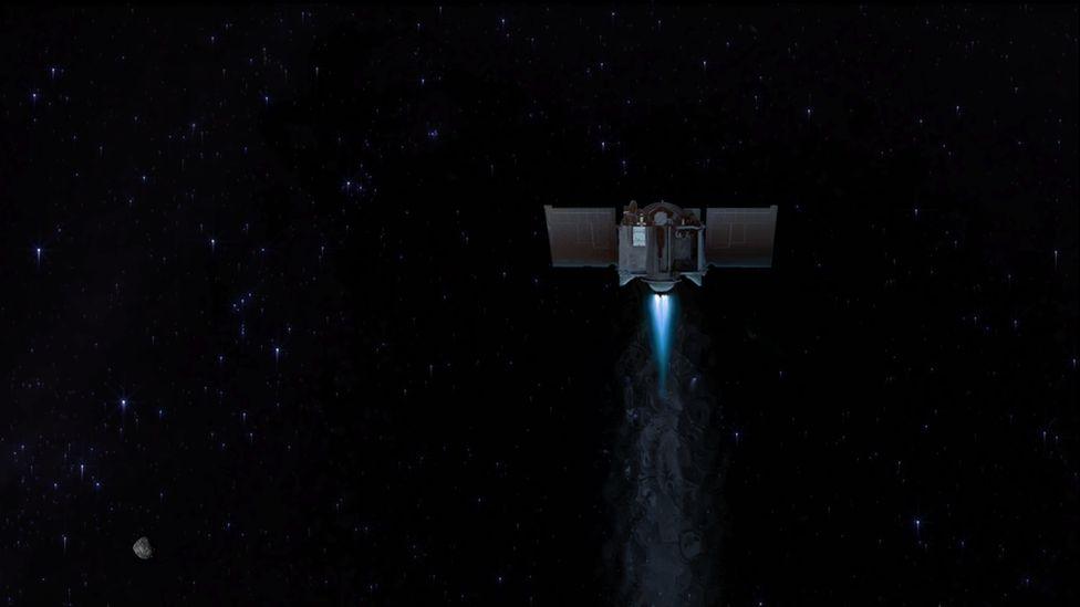 Зонд NASA доставит на Землю образцы грунта астероида Бенну