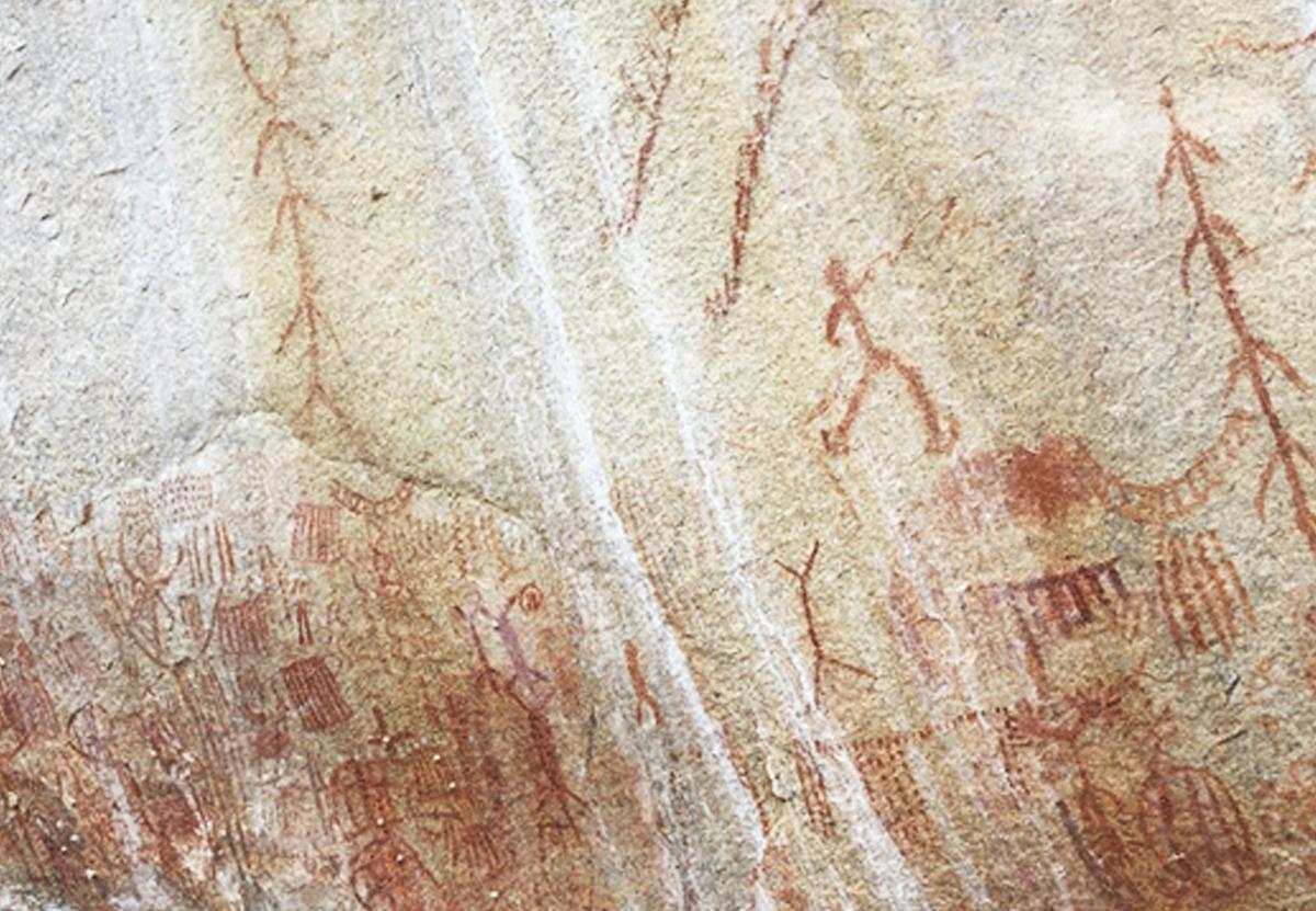 Климатический кризис наносит ущерб древнейшим наскальным рисункам
