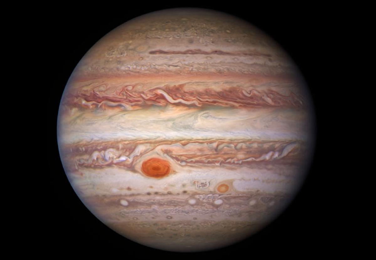 Астрономы опубликовали новые потрясающие снимки Юпитера