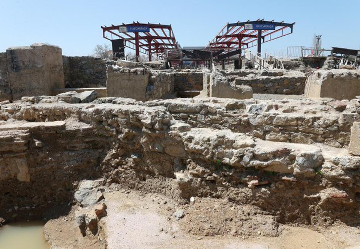 Под вокзалом в Стамбуле раскопали апсиду III века до нашей эры.Вокруг Света. Украина