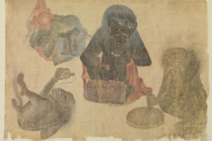 В США нашли древнейшее изображение гориллы за пределами Африки