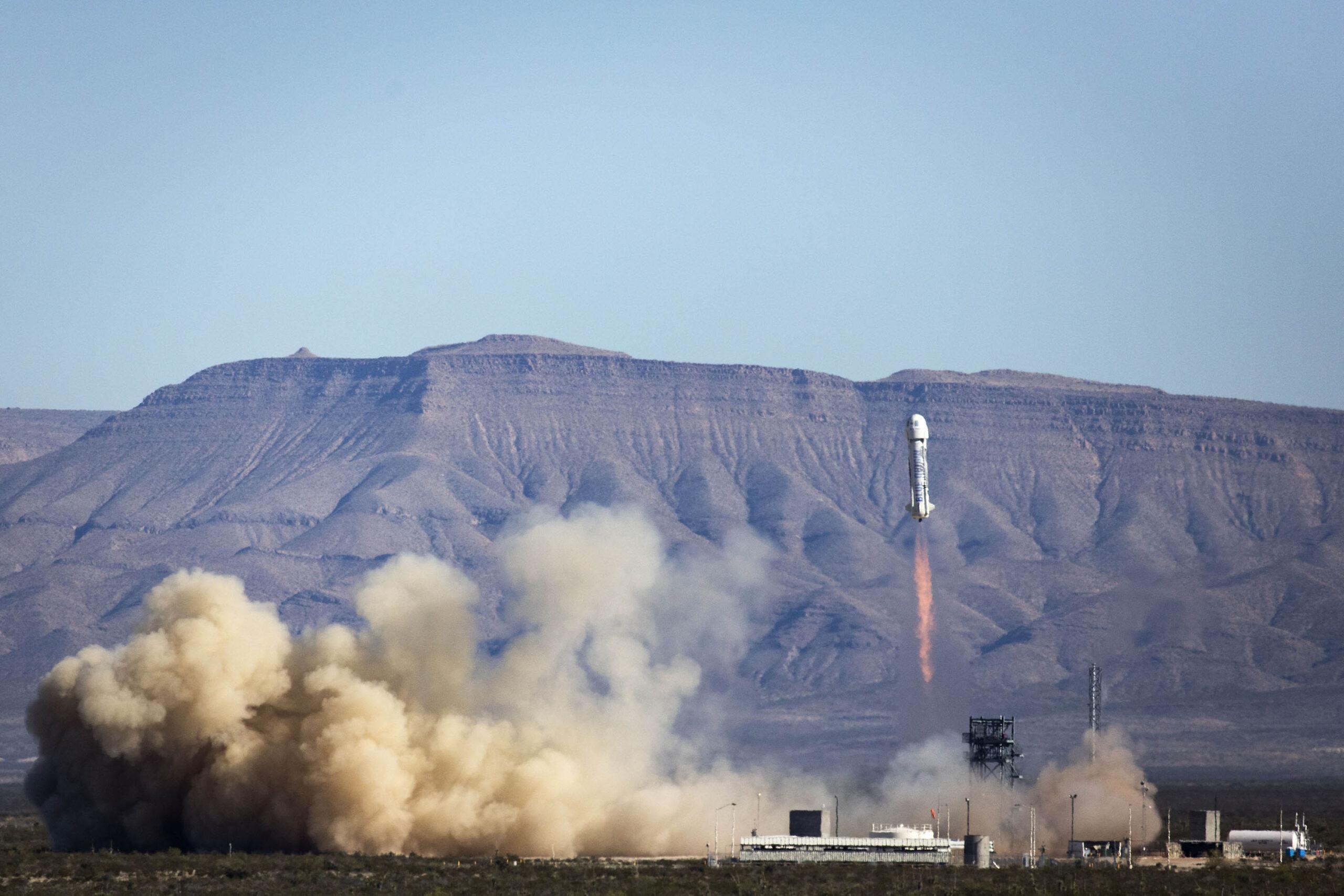 Blue Origin отправит в космос первого туриста за как минимум $2,8 млн