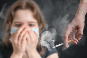 Пассивное курение приводит к сердечной недостаточности