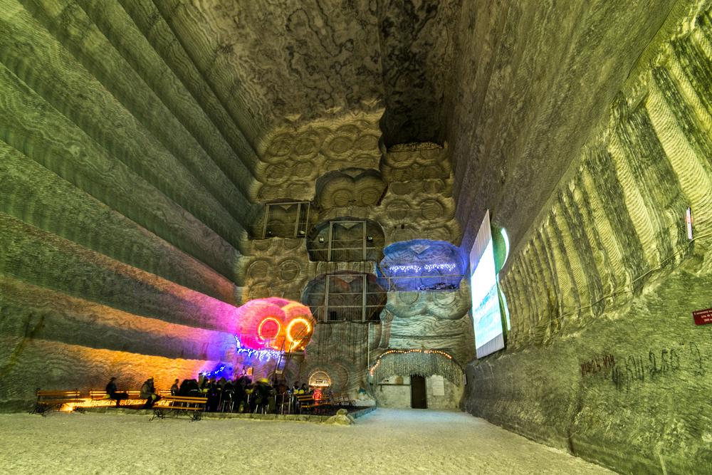соляная пещера, пещеры Украиныа