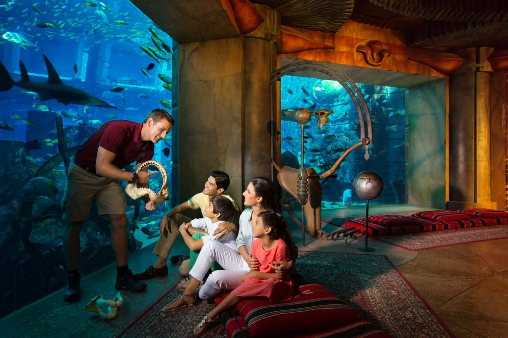 Отдых в Дубае: куда пойти с ребенком?