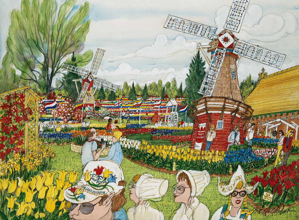 Tulip Farm by Mark McMahon