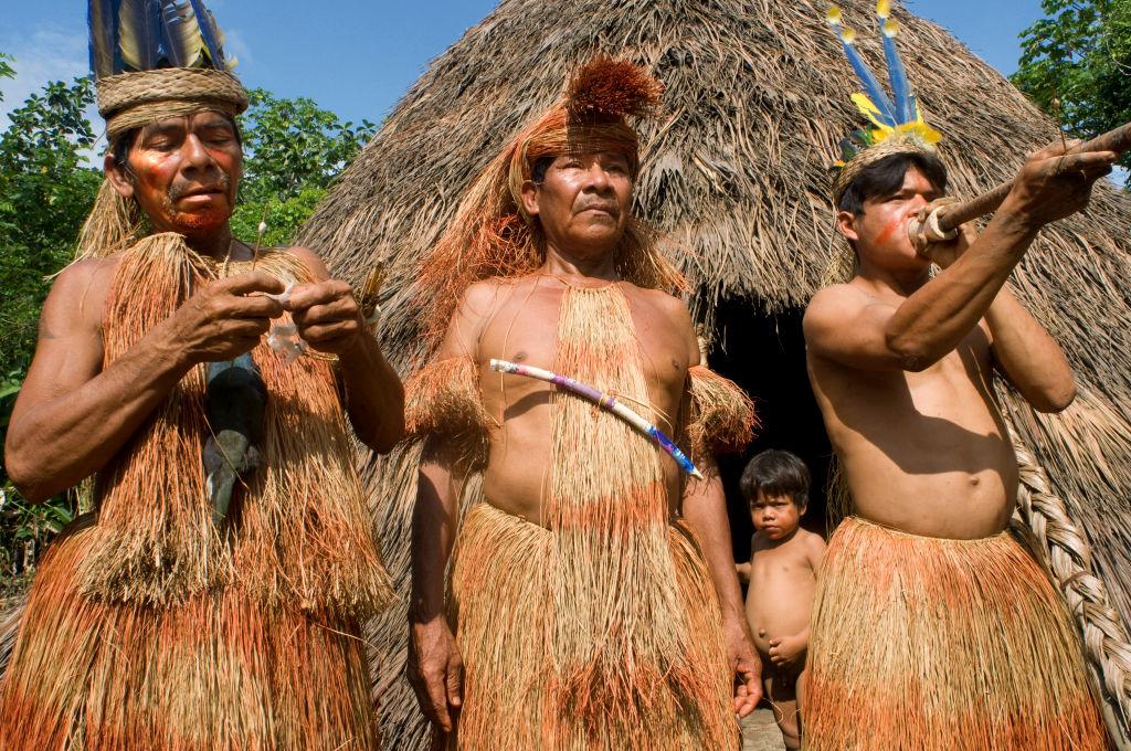 Индейцы Амазонии начали вымирать задолго до прибытия европейцев.Вокруг Света. Украина
