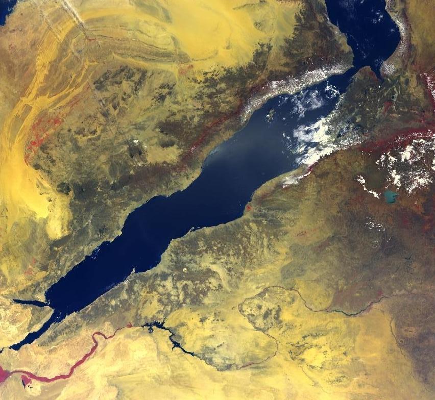 Красное море оказалось океаном — исследование.Вокруг Света. Украина