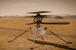NASA продлила на месяц миссию вертолета Ingenuity
