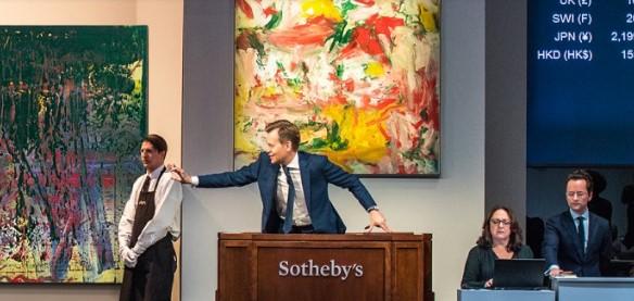 На аукционе впервые продадут картину за криптовалюту