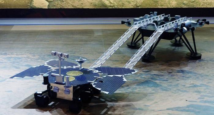Китай успешно посадил зонд на поверхность Марса