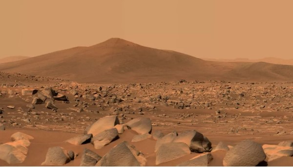 Perseverance изучает камни на Марсе