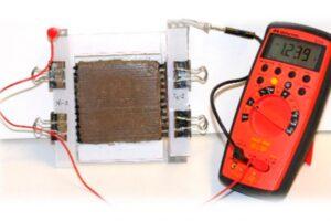 Аккумуляторы для солнечных батарей можно встраивать прямо в бетонные стены зданий
