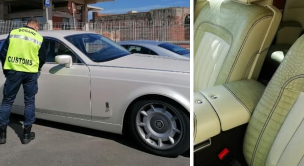 В Италии арестовали Rolls Royce, обитый кожей редкого крокодила.Вокруг Света. Украина