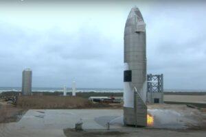 Прототип Starship впервые не взорвался при запуске