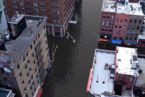 Глобальное потепление: художники смоделировали потоп в Нью-Йорке