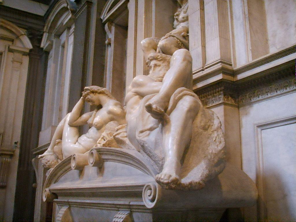 В Италии статуи Микеланджело чистят с помощью плотоядных бактерий.Вокруг Света. Украина