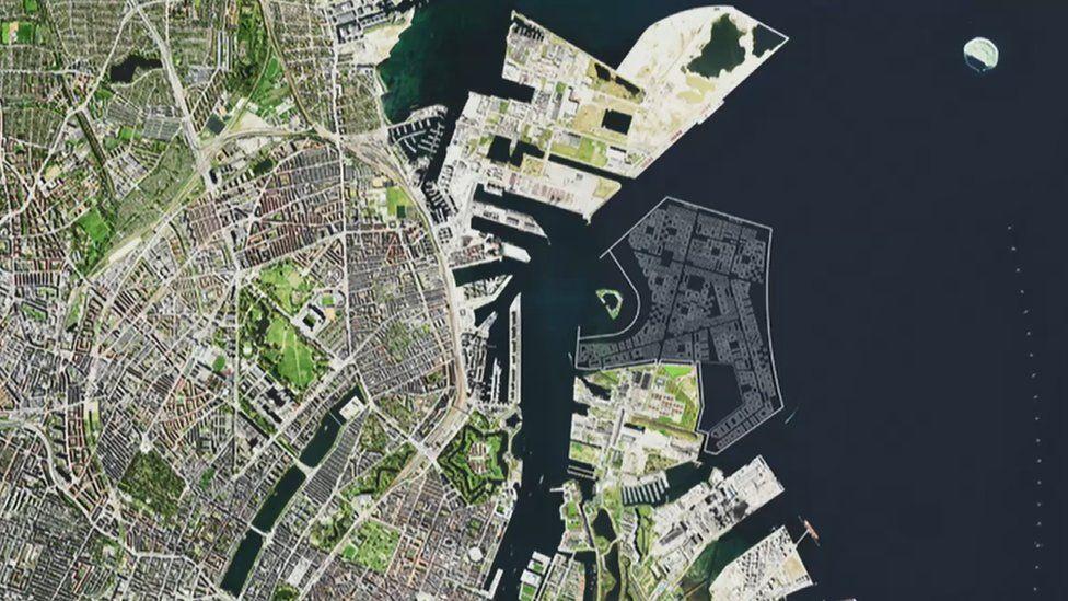 Рядом с Копенгагеном построят жилой искусственный остров.Вокруг Света. Украина
