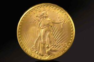 В США продали самую дорогую монету в мире