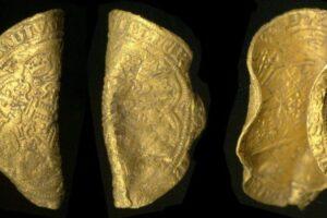 В Англии нашли очень редкие монеты 1344 года