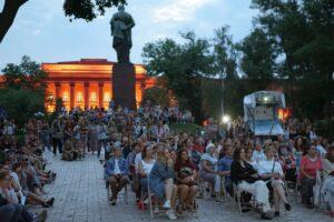 В Киеве открывается бесплатный кинотеатр под открытым небом