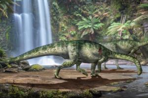 Юрский монстр: в Китае нашли почти полный скелет динозавра