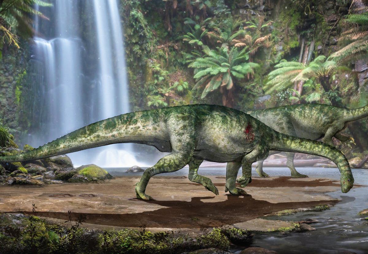 Юрский монстр: в Китае нашли почти полный скелет динозавра.Вокруг Света. Украина