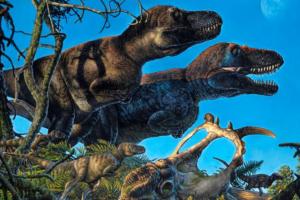 Динозавры-полярники жили и гнездились на Аляске круглый год