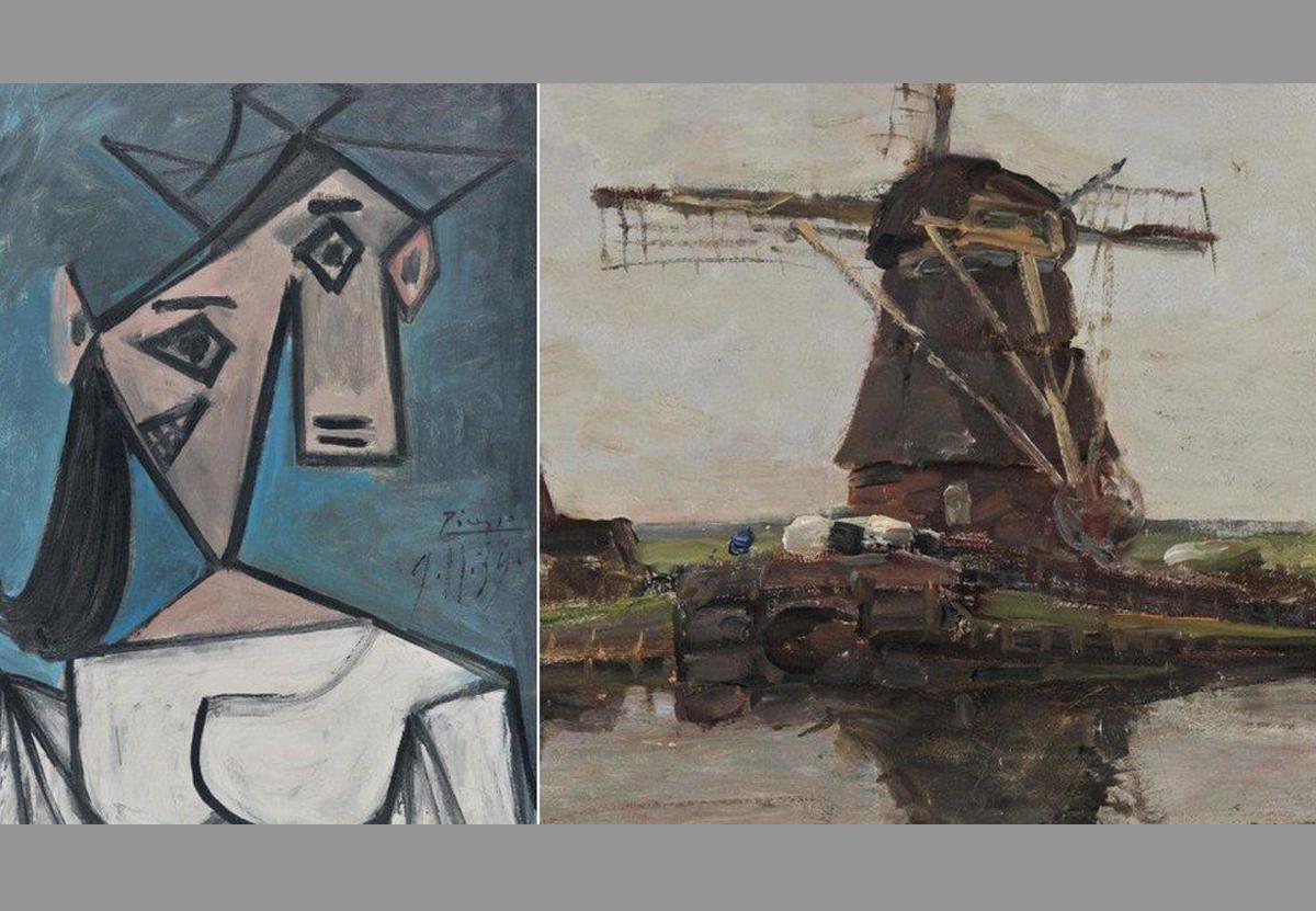 Как украсть миллион: в Афинах нашли похищенные картины Пикассо и Мондриана.Вокруг Света. Украина