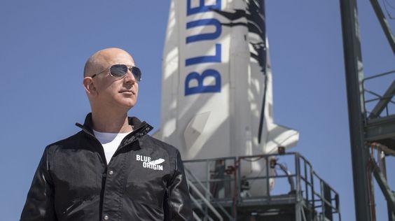 Джефф Безос отправится в космос на своем корабле уже 20 июля