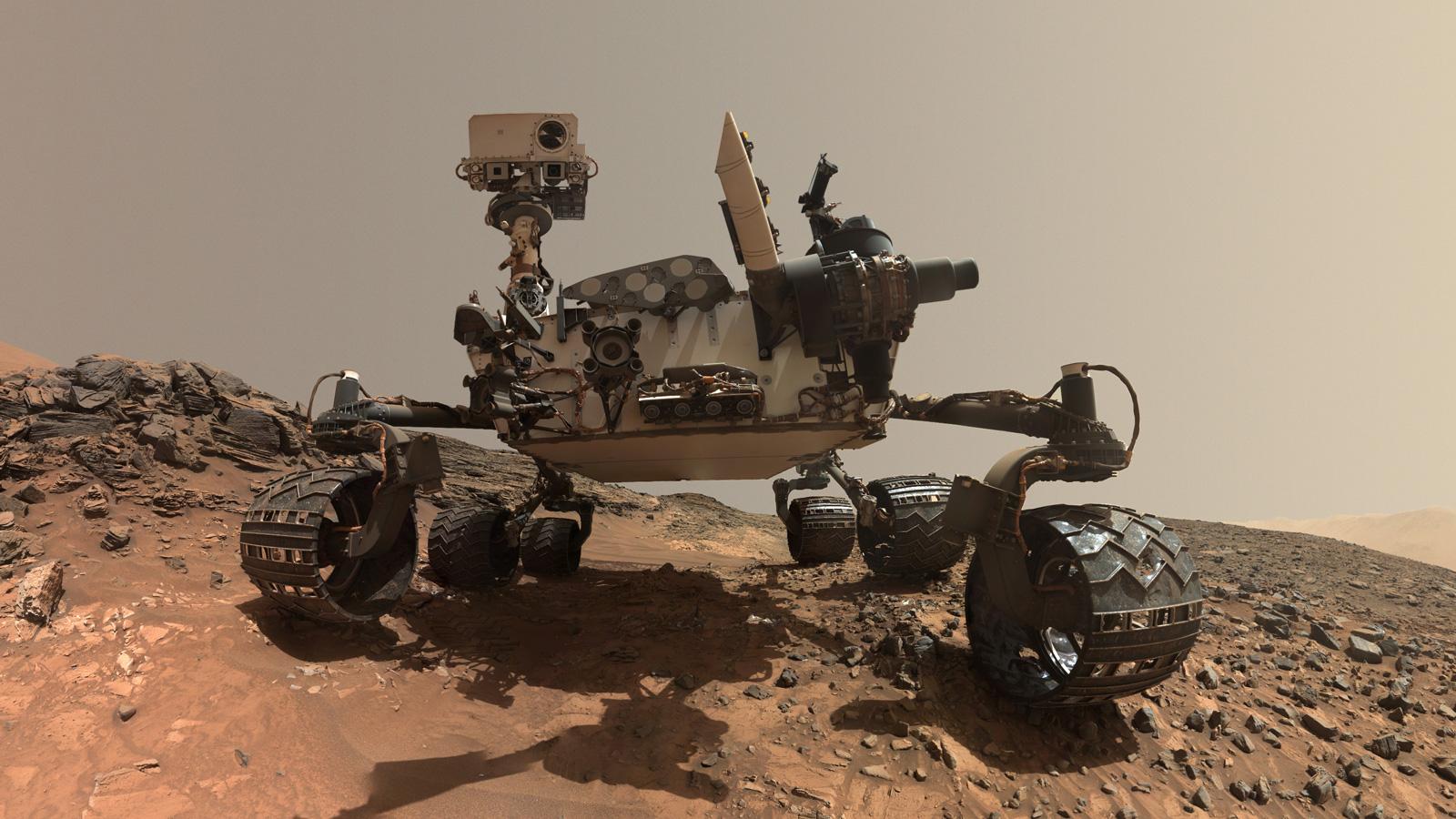 Марсоход Curiosity продолжит поиски соли на Красной планете.Вокруг Света. Украина