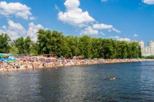 Пляжи Киева готовы к летнему сезону
