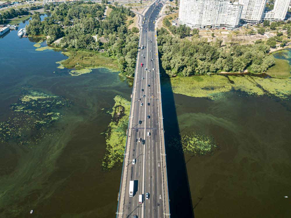 Аудиторы назвали состояние реки Днепр катастрофическим.Вокруг Света. Украина