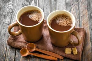 Какао повышает остроту дневного зрения