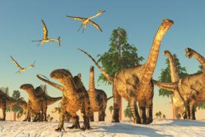Жаркое лето – теплая зима: стало известно, в каком климате жили динозавры