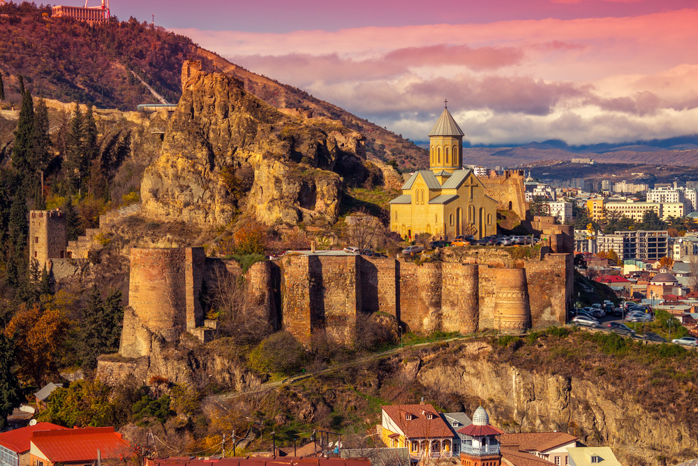 Четырехдневные туры в Грузию с Makatsaria Tourism и МАУ.Вокруг Света. Украина