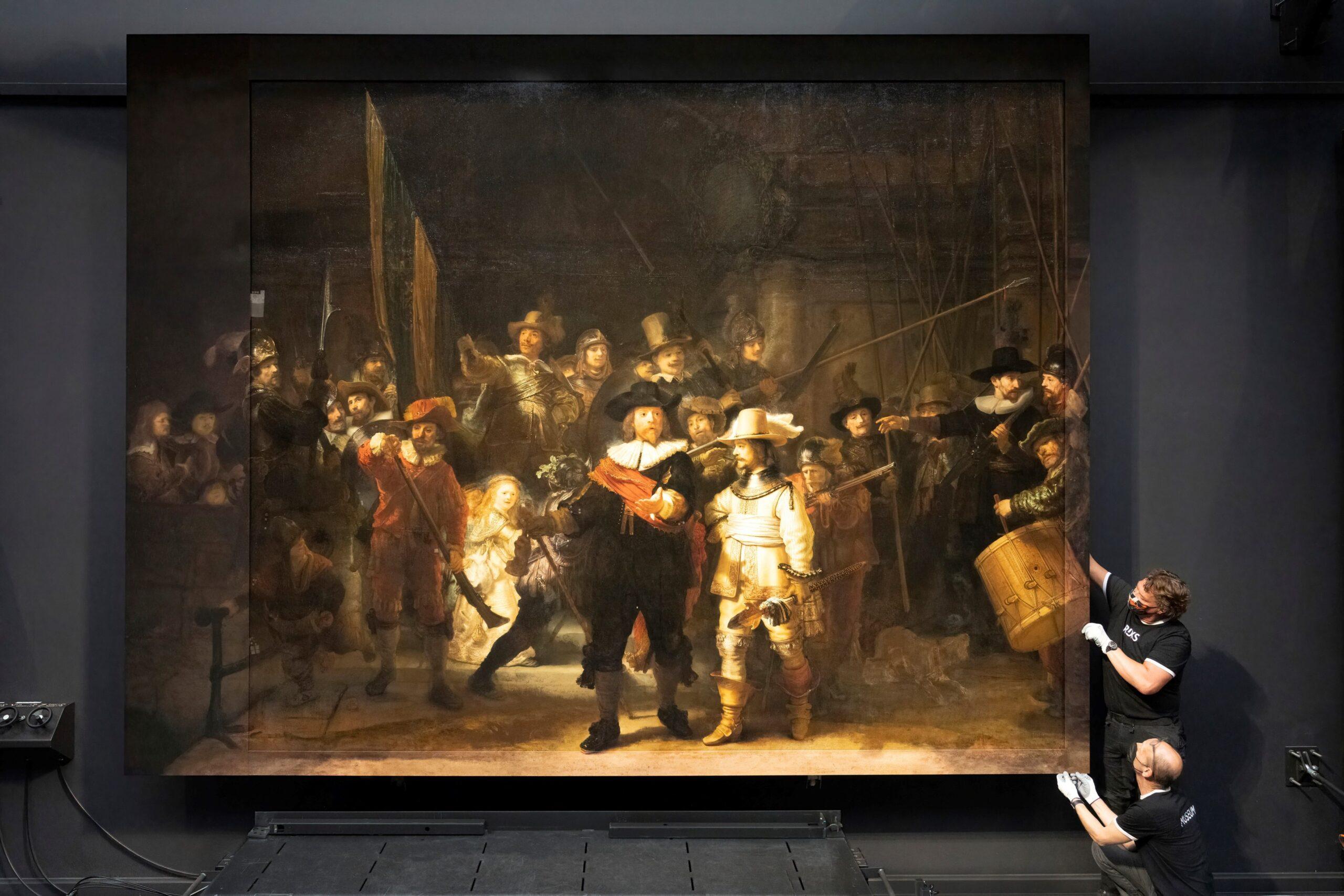 Искусственный интеллект восстановил изуродованную картину Рембрандта