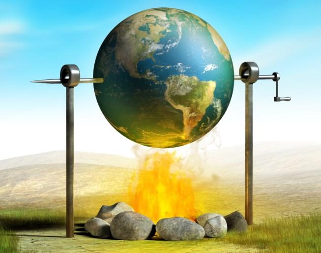 Земля поглощает больше тепла, чем отдает