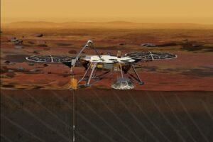 Зонд InSight сворачивает работу из-за пыли