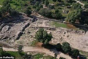 В Израиле восстанавливают древнеримскую базилику, возведенную при Ироде Великом