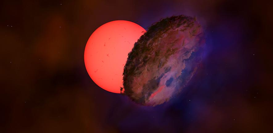 В центре Млечного Пути мерцает звезда в 100 раз больше Солнца