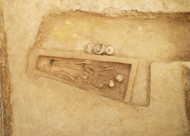 В Китае впервые нашли могилу древних возлюбленных.Вокруг Света. Украина