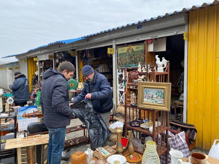 блошиные рынки в Украине